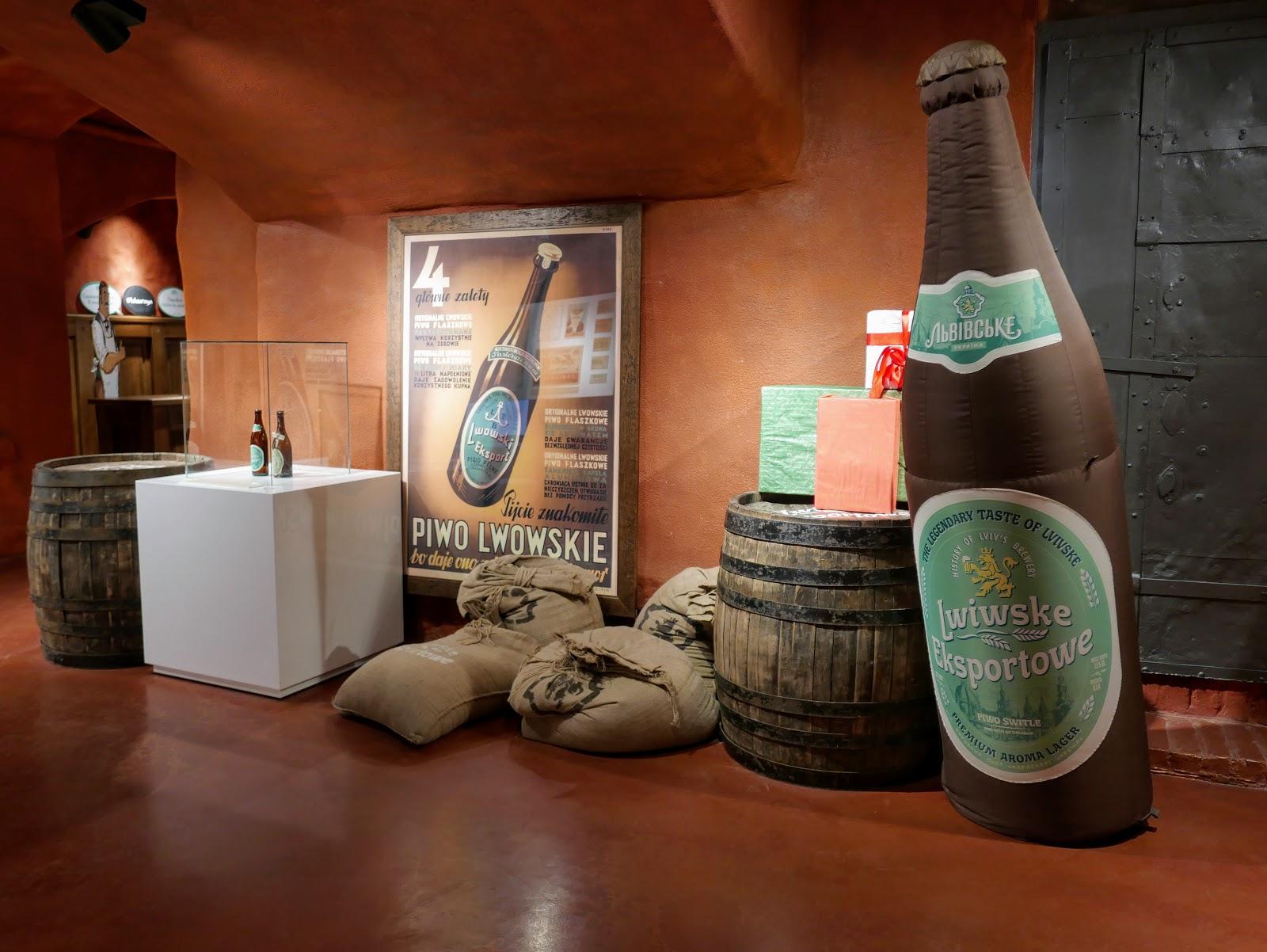 "Muzeum Browaru Beer Cultural Experience Center ""Lvivarnya"" lwów"