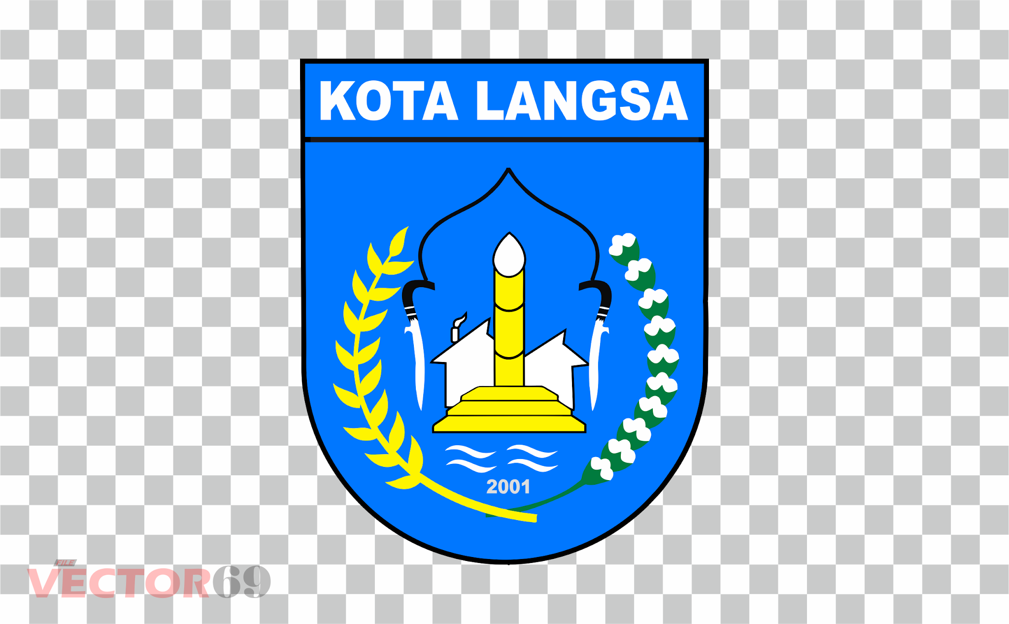Kota Langsa Logo - Download Vector File PNG (Portable Network Graphics)