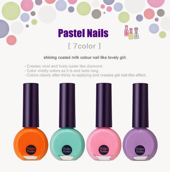 Holika Holika Pastel Nails