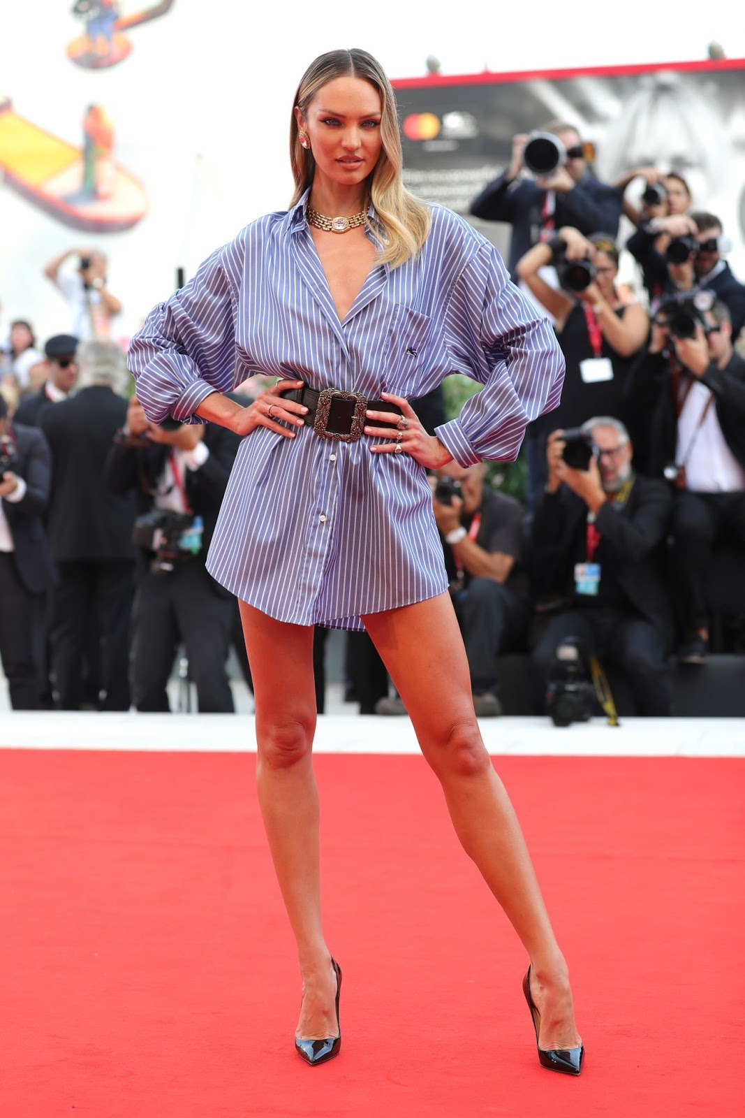 Candice Swanepoel – 'Marriage Story' Premiere at the 2019 Venice Film Festival red carpet