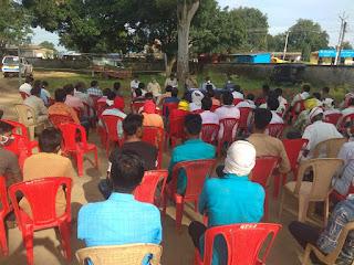 आगामी त्योहार नवरात्रि, दशहरा, दीपावली को लेकर थाना नवेगाँव में सम्पन हुई शांति समिति की बैठक