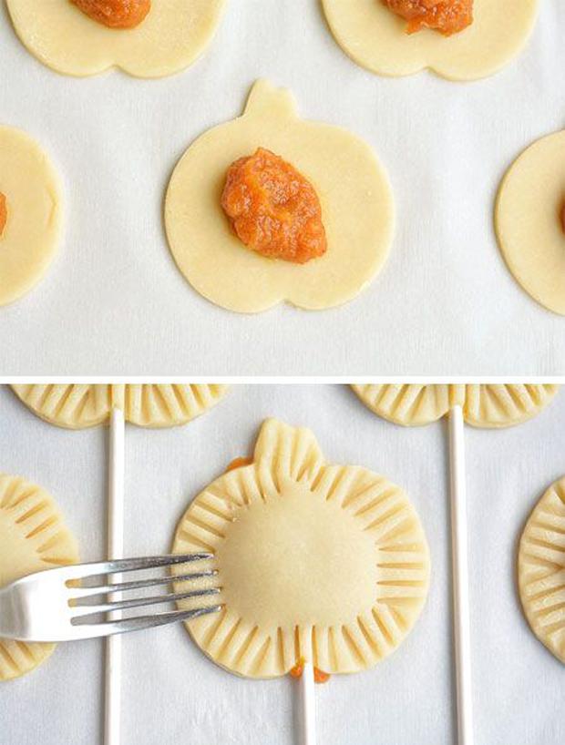 Mini Pumpkin Pie Pops #desserts #yummy #pumpkin #cakes #healthyrecipes