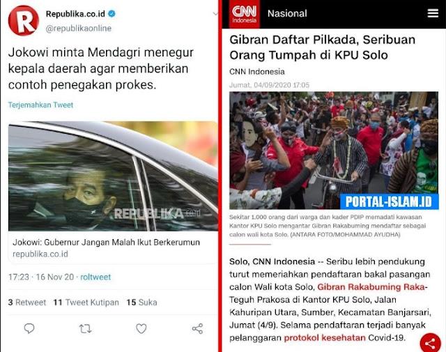 Terlalu Sibuk Urus HRS dan Anies Baswedan, Jokowi Lupa Pelanggaran Anaknya Sendiri