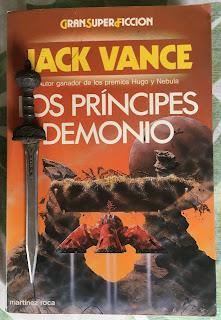 Portada del libro Los Príncipes Demonio, de Jack Vance
