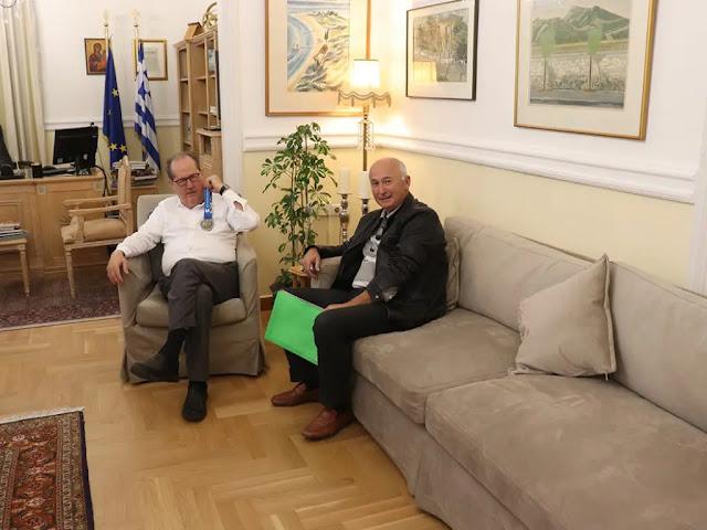 Με τον πρόεδρο του ΣΕΓΑΣ θα έχει συναντηση ο Π. Νίκας