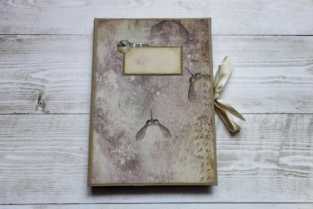 Albumik z kopert na listy