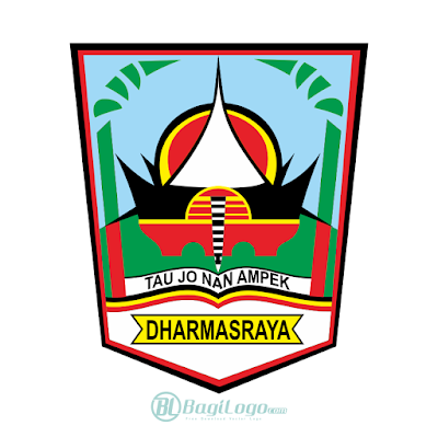 Kabupaten Dharmasraya Logo Vector