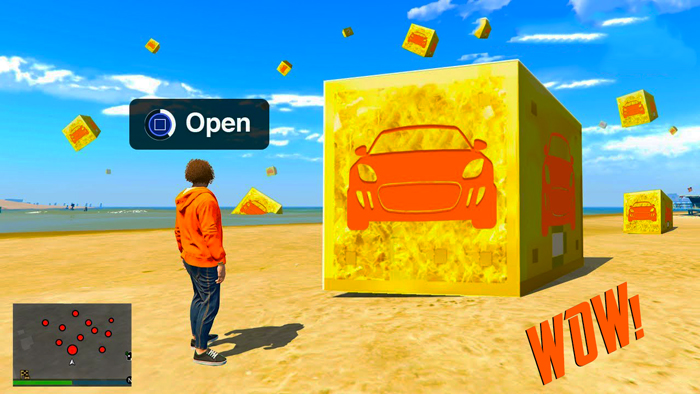 GTA V Lucky Blocks Mod Download | Like Minecraft | GTA 5 Mod