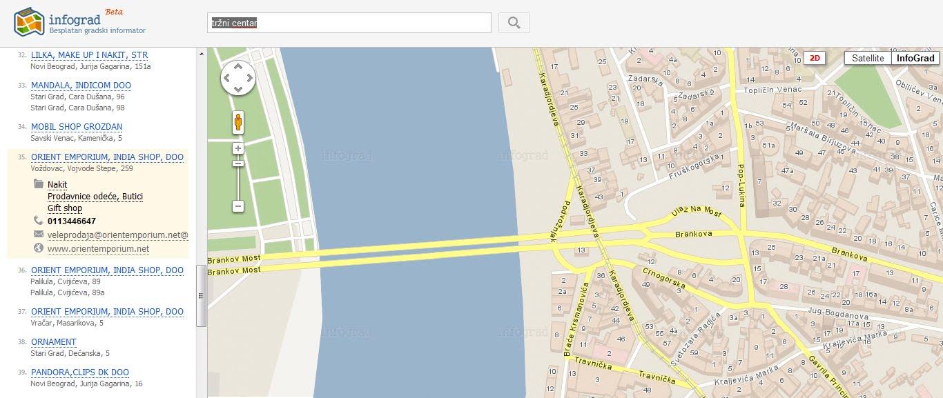 Mapa Ulica Beograda Novi Plan Ulica Beograda