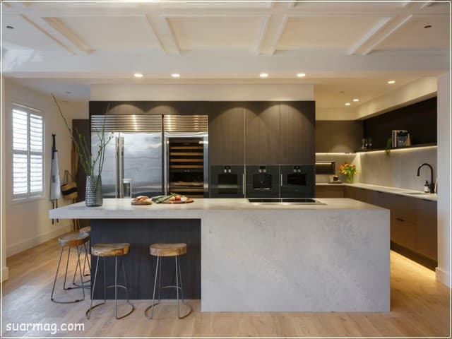 مطابخ مودرن خشب 9   Modern Wood kitchens 9