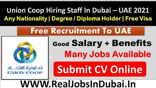 Union Coop Hypermarket Jobs In Dubai UAE 2021