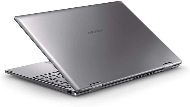 Medion S4403: portátil Core i3 de diseño convertible, con Windows 10 y teclado en español