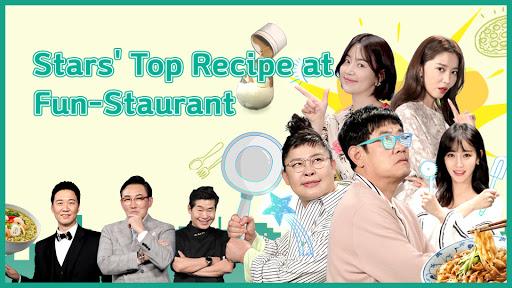 Star's Top Recipe at Fun-Staurant