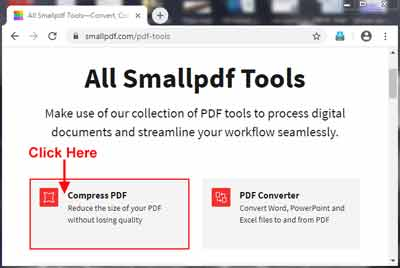 Select Compress Pdf