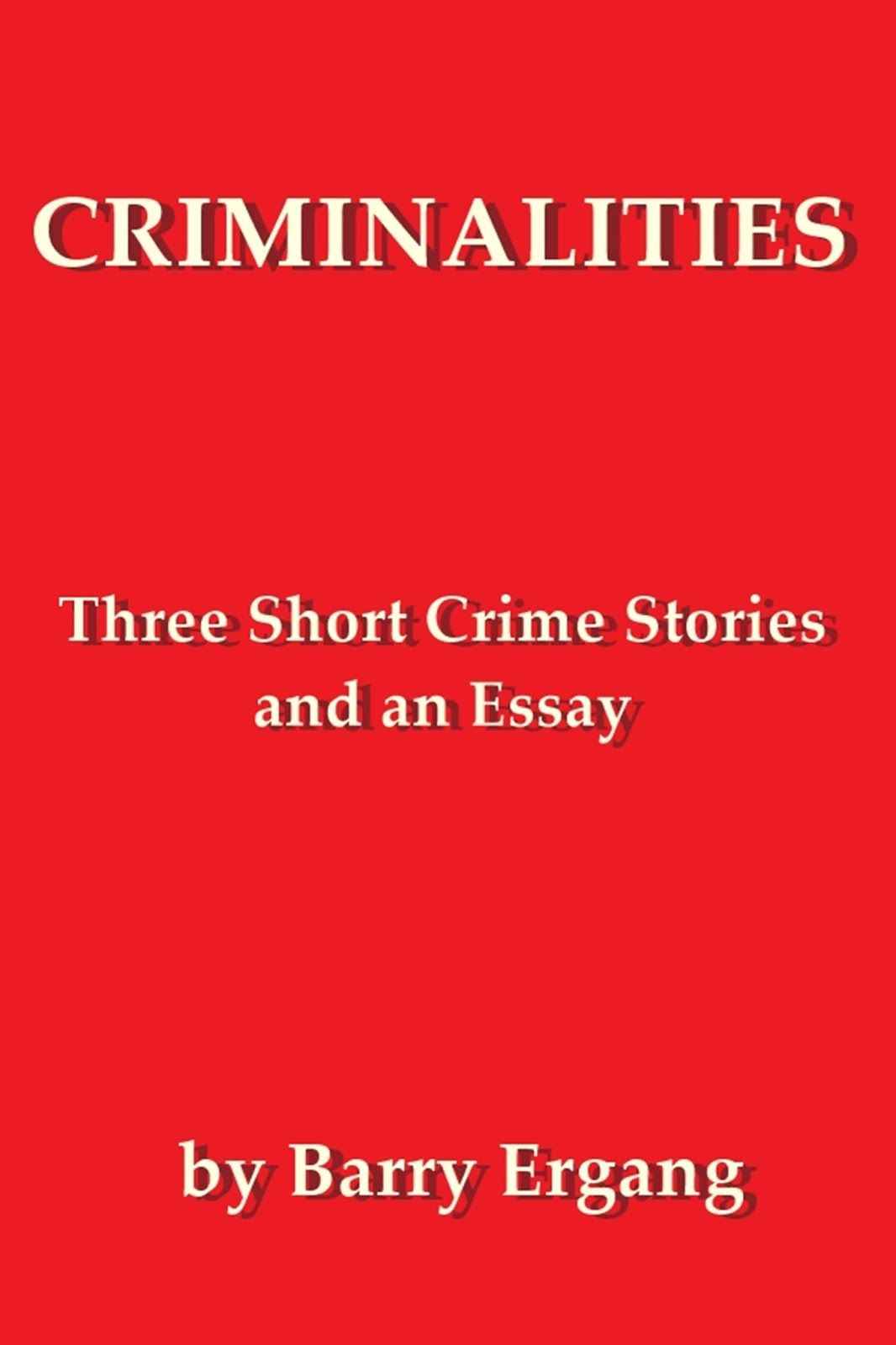 crime story essay Organized crime group analysis team a cja 384 organized crime group analysis in this paper it was asked of us as a team to give an in-depth historical analysis of an organized crime group with this class being about organized crime one would think to write about mobsters, but we decided to think outside the box.