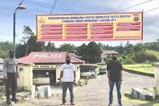 Polres Aceh Tengah Himbau New Normal Dengan Pasang Spanduk