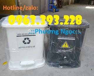 Thùng rác y tế đạp chân, thùng chứa rác thải lây nhiễm, thùng đựng rác thải y tế D47ed094ddfa3ba462eb