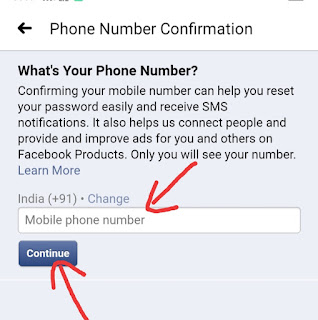 Facebook Par Number kaise Change kare