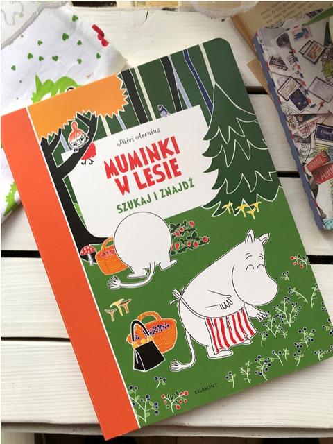 Szukaj i znajdź - Muminki w lesie // Muminki i morze