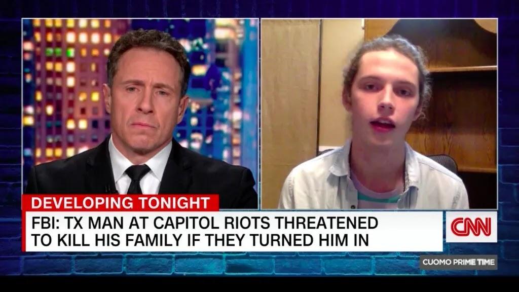 «Κάρφωσε» τον πατέρα του και  τον έκαναν και «ΗΡΩΑ» , βγήκε και στο CNN