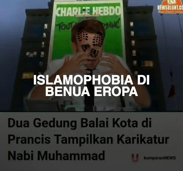 Darah umat Islam kembali menggelegak, pernyataan presiden Prancis, Emmanuel Macron membuat kemarahan ummat Islam Prancis dan dunia memuncak.