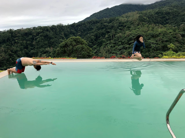 Defying gravity at Vista Tala Infinity Pool
