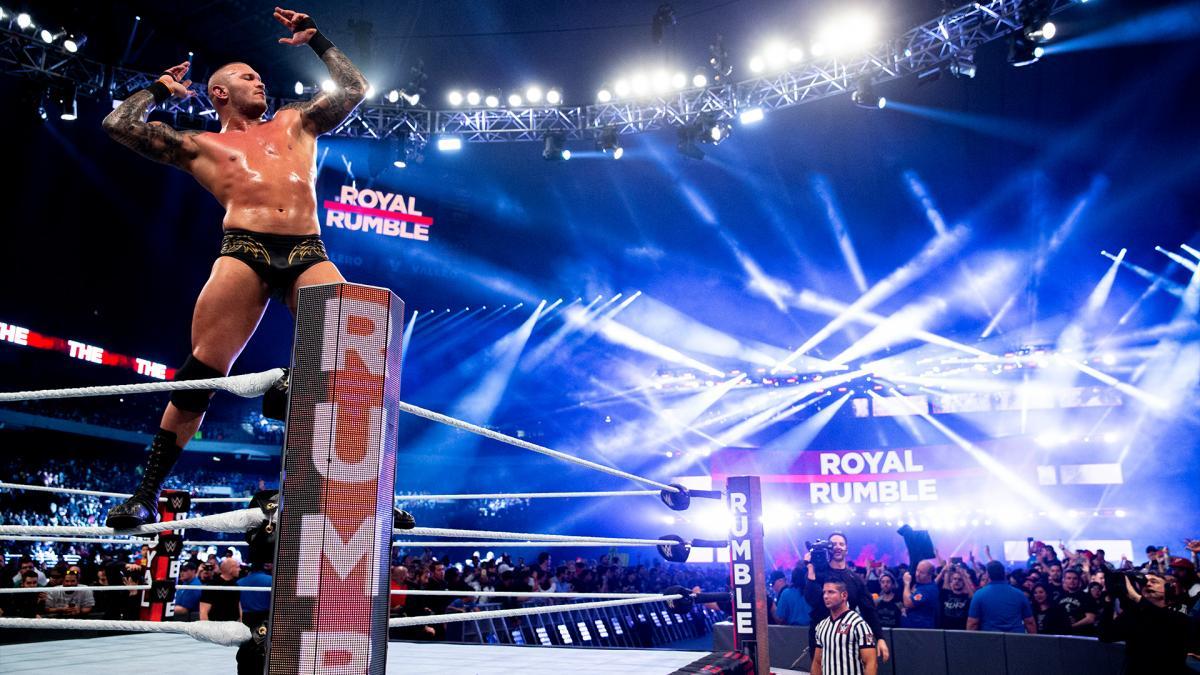 Randy Orton in the WWE Royal Rumble
