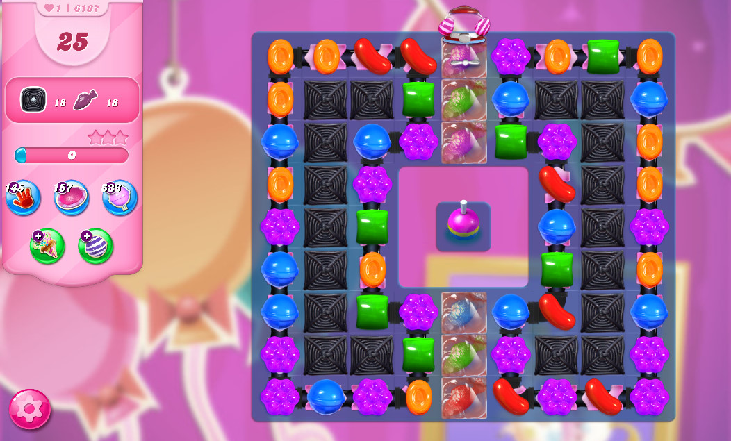 Candy Crush Saga level 6137