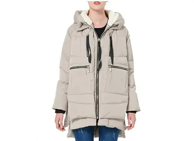 3. Orolay Women's Thickened Down Jacket