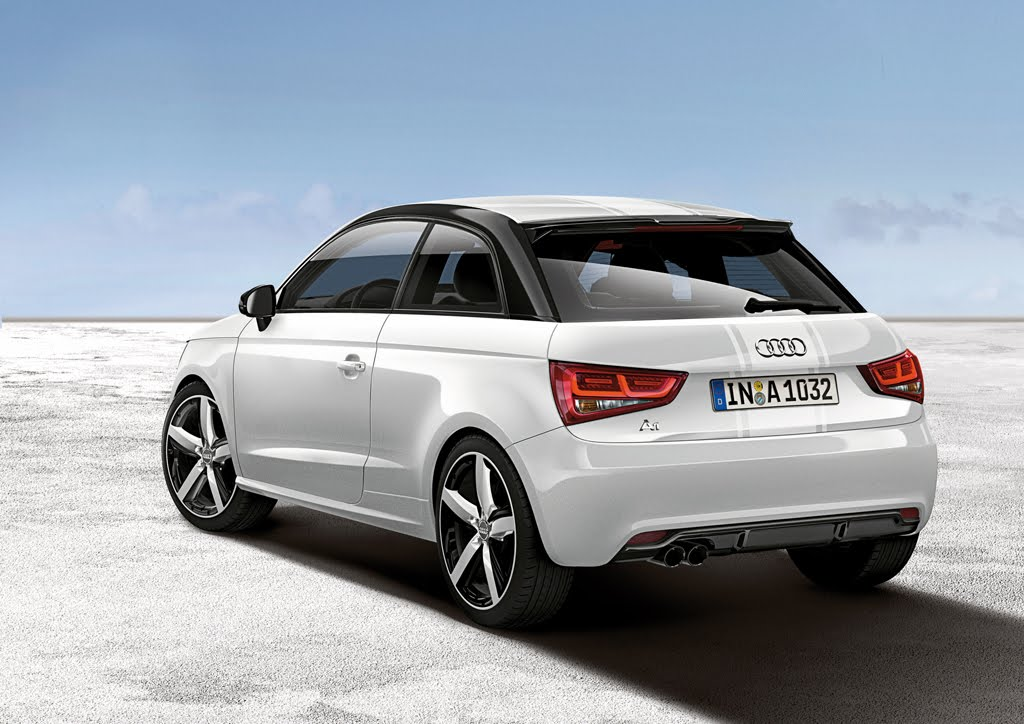 audi a1 amplified exclusive edition models revealed. Black Bedroom Furniture Sets. Home Design Ideas