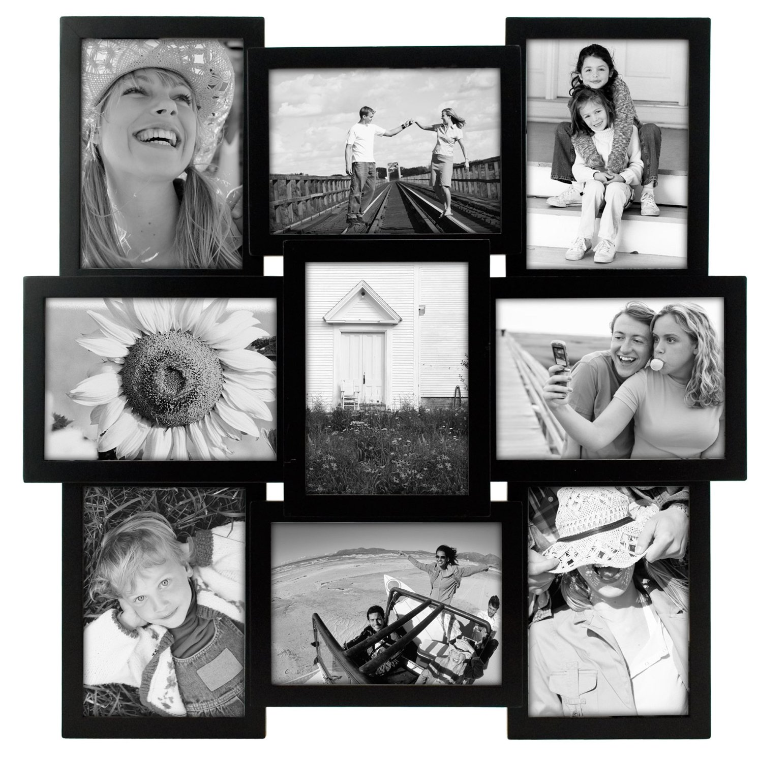 Opening Collage Picture Frame Malden Crossroads 9 5 By 7 Inch 5x7