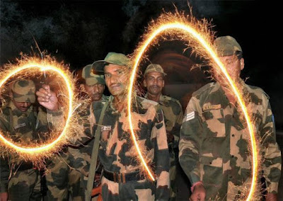Sandesh to Soldiers for Diwali Images