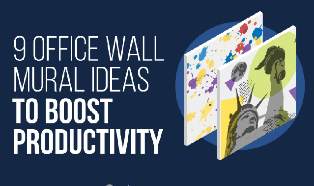 Wall Mural Ideas That Will Transform Your Office #Infographic