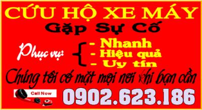 Trung tâm Sửa Xe Sài Gòn dịch vụ cứu hộ xe máy chuyên nghiệp