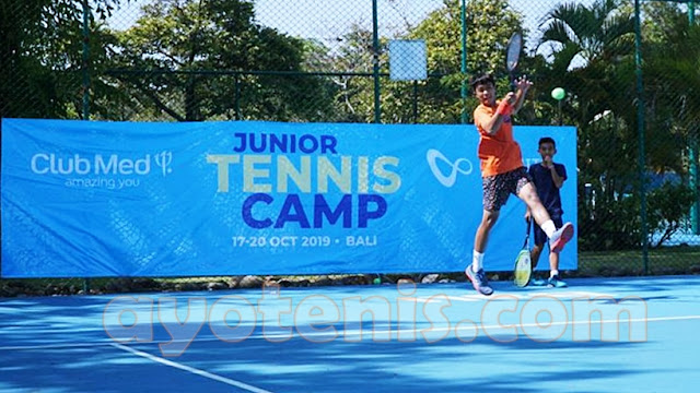 Tak Sia-sia Ikuti Infinite Junior Tennis Camp, Rian Kian Berprestasi, Kejutkan Ajang Kejurnas Fiks Bandung