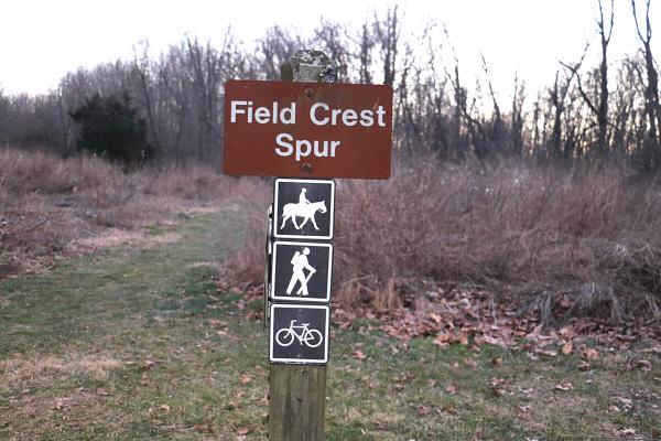 Field Crest Spur Black Hill Regional Park