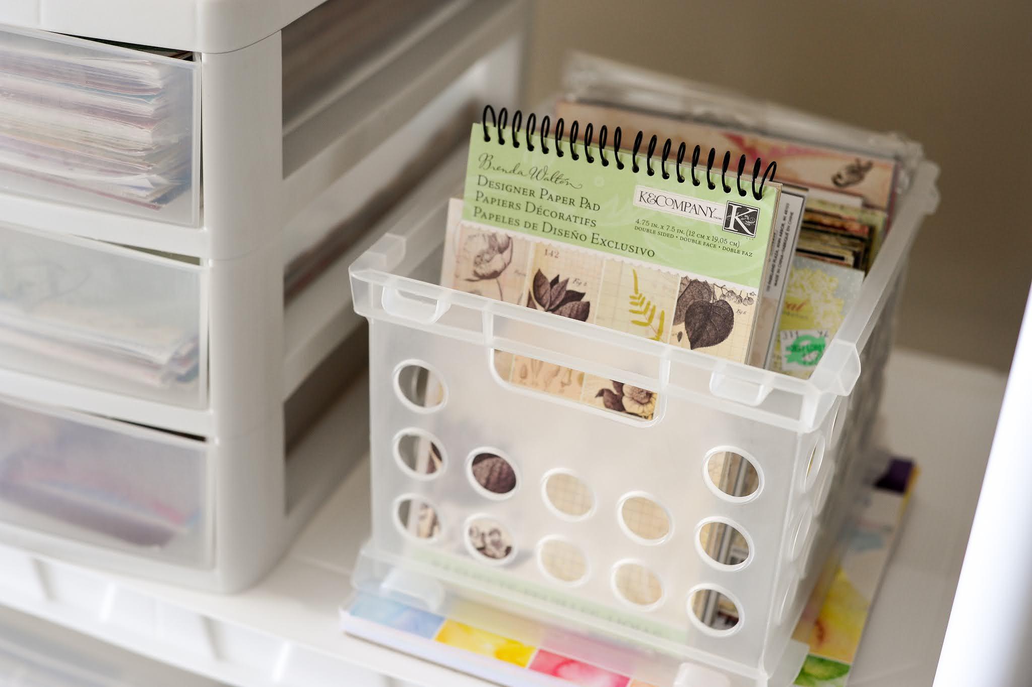 Craft Paper Organization