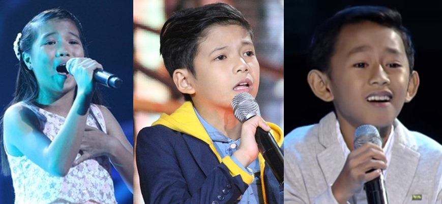 Joshua, Justin and Antonetthe advance to 'The Voice Kids' Philippines Grand Finals