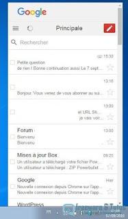 Correo client Gmail pour PC