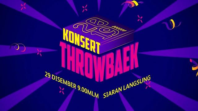 Konsert Throwbaek 2019