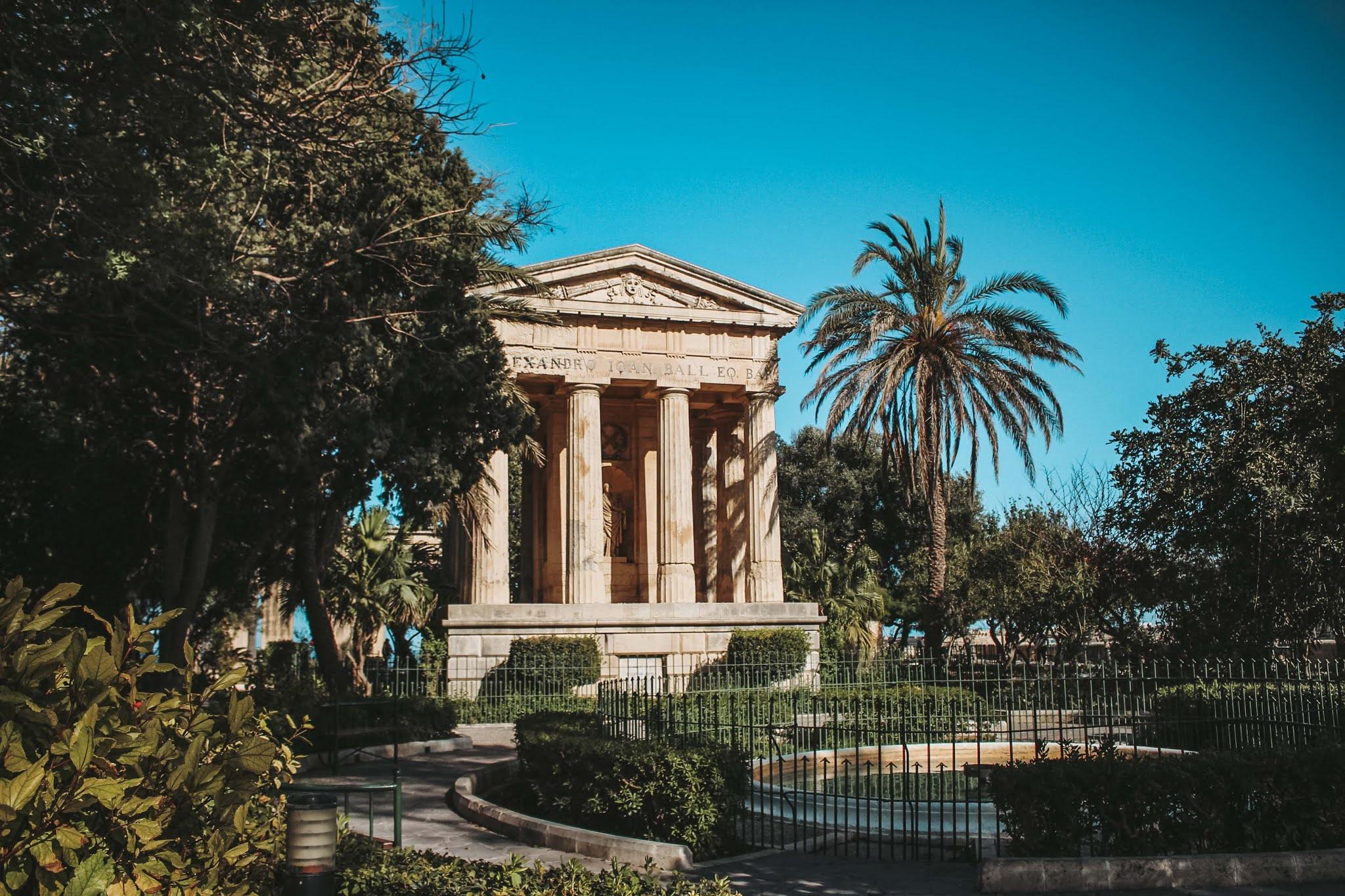 Valetta Lower Baranca Garden