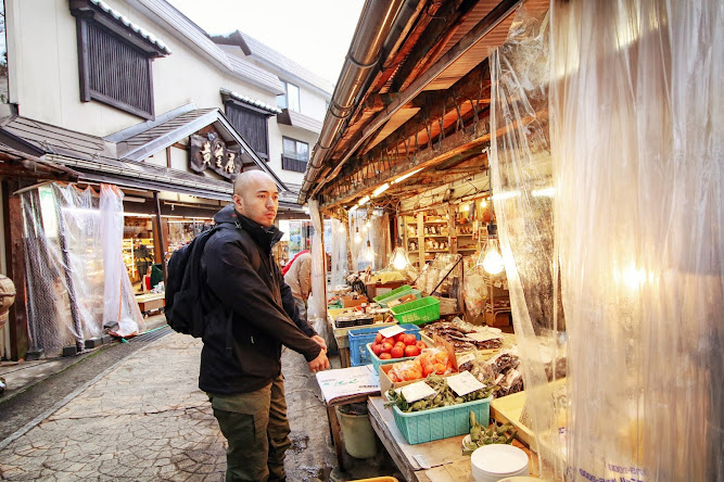 Nagano Nozawaonsen Village Japan Markets