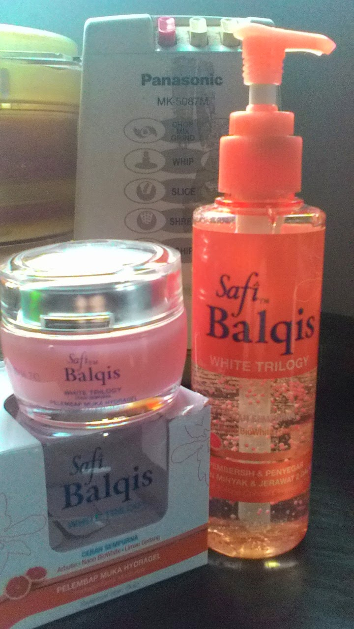 Safi Balqis White Trilogy - Pek Orange