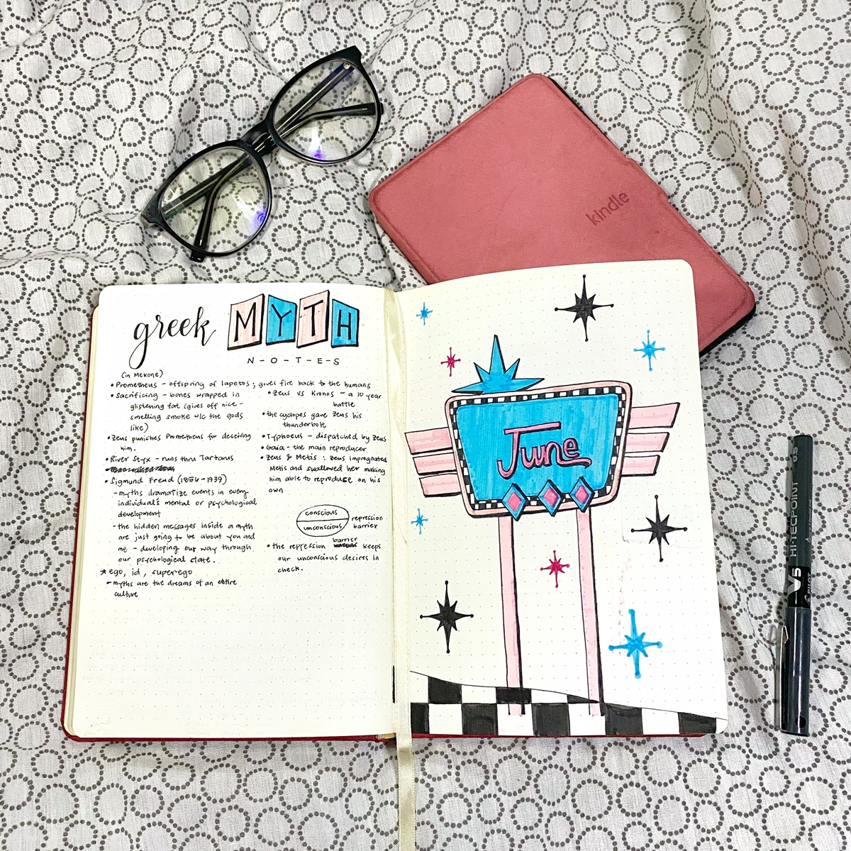 Renee Alexis - June 2020 Journal Spread