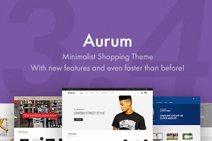 Download Aurum v3.4.9 Nulled - Minimalist Shopping Theme