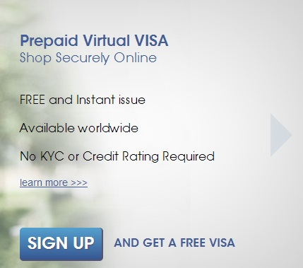 How to get a free Prepaid Virtual Credit Card (VCC) online