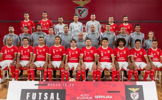 Benfica Futsal Apresentação do plantel