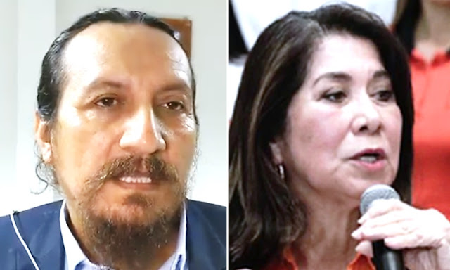 Personero de Frepap Wilfredo Tenorio, Martha Chávez