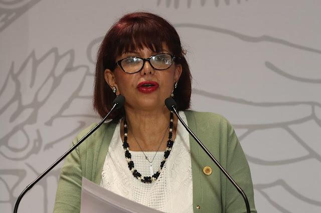 diputada Claudia Yáñez Centeno (Morena)