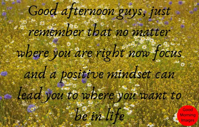 good afternoon quotes with Pictures